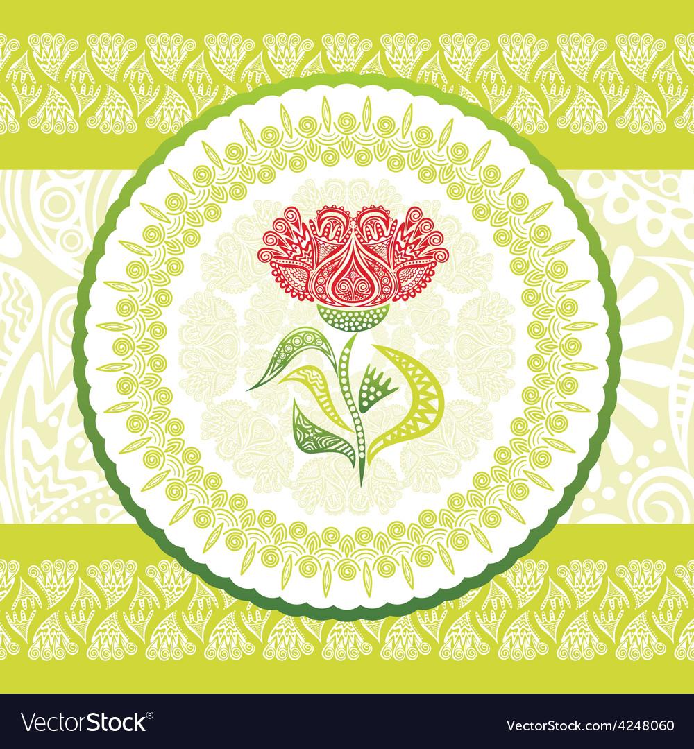 Beautiful flower vector | Price: 1 Credit (USD $1)