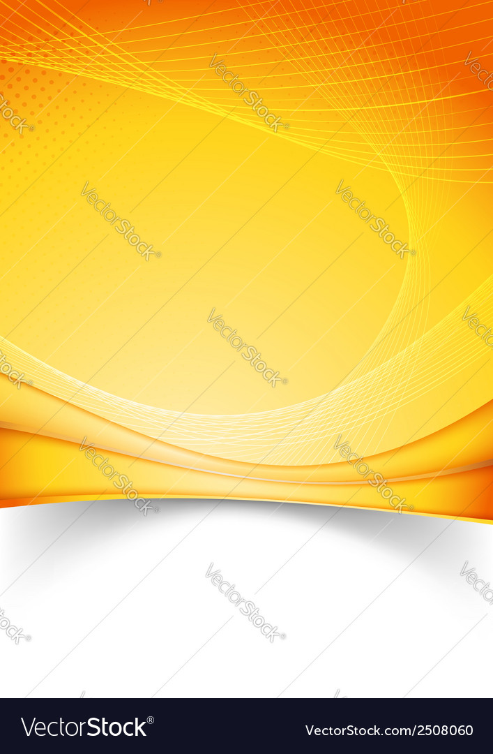 Bright summer solar folder template vector | Price: 1 Credit (USD $1)