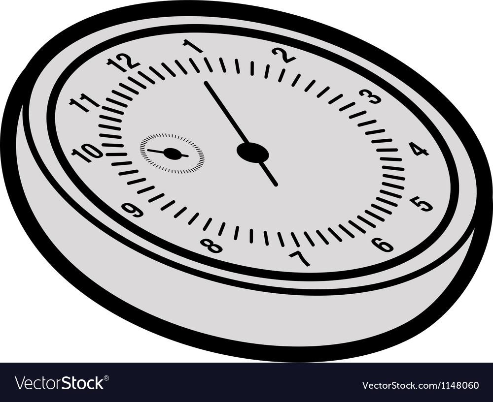 Cartoon stopwatch vector | Price: 1 Credit (USD $1)