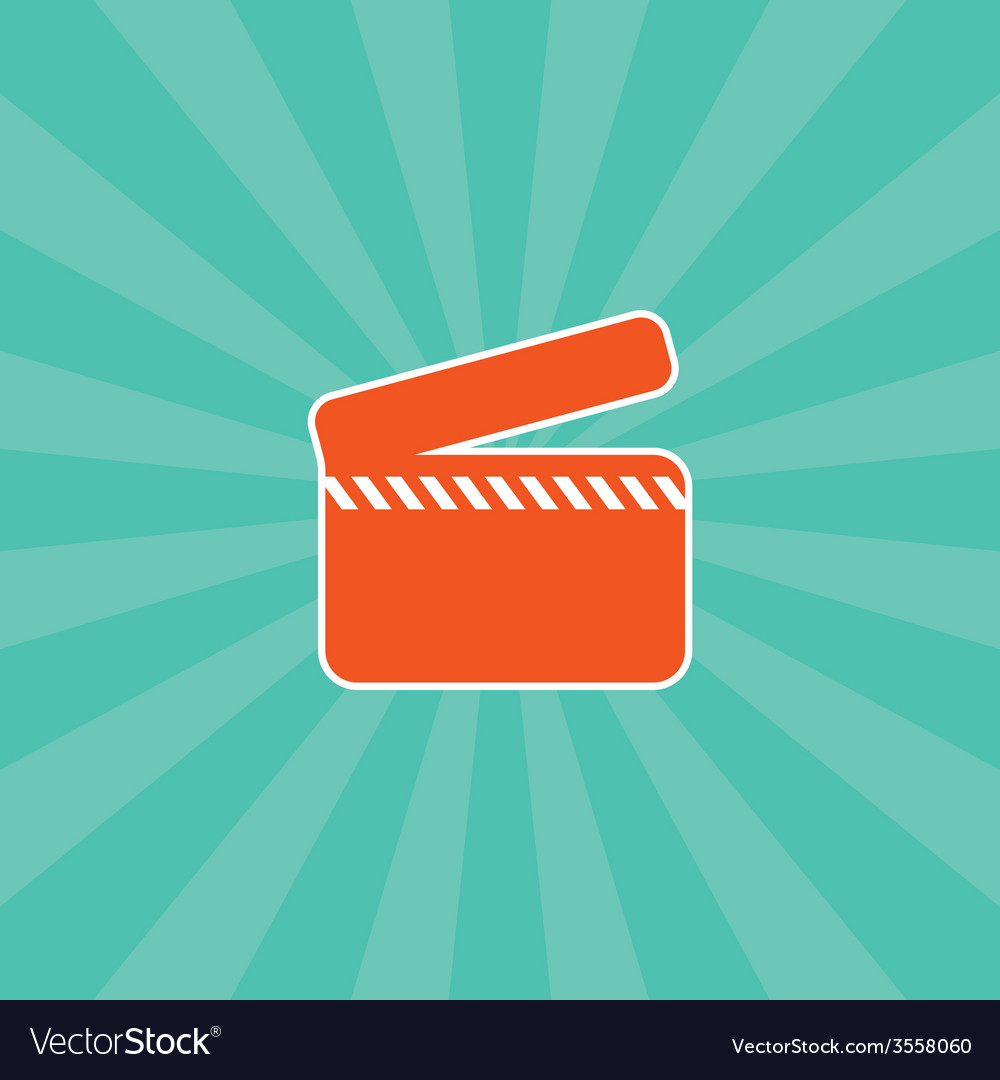 Movie theme icon vector | Price: 1 Credit (USD $1)