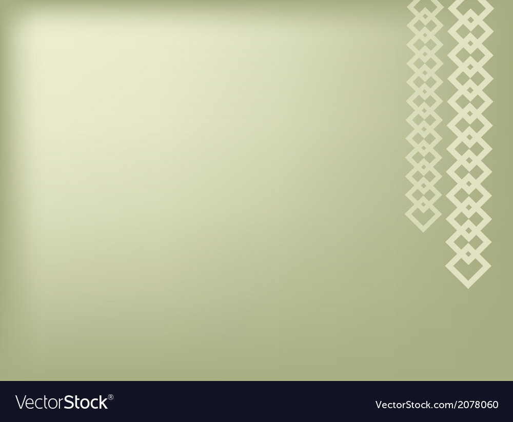 Square chain on green background vector | Price: 1 Credit (USD $1)