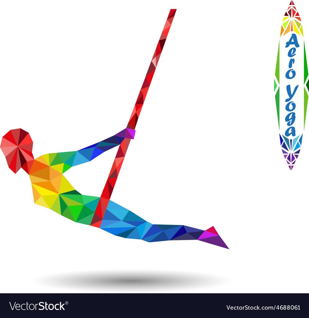 Aero yoga vector | Price: 1 Credit (USD $1)
