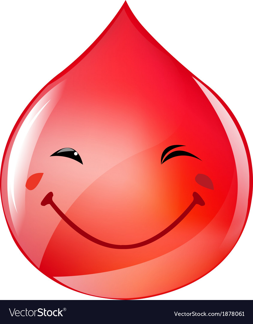 Blood drop vector | Price: 1 Credit (USD $1)