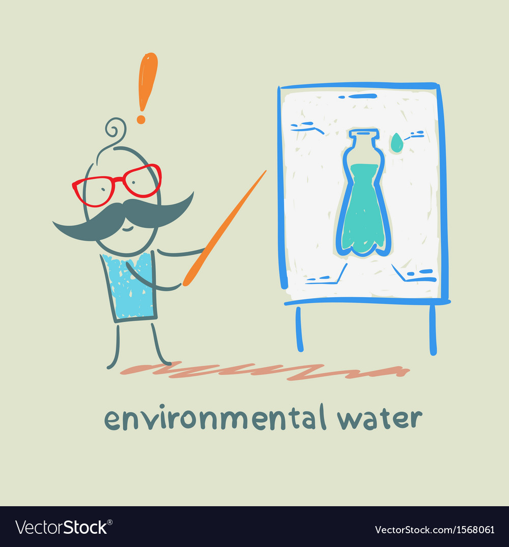 Environmental water vector | Price: 1 Credit (USD $1)