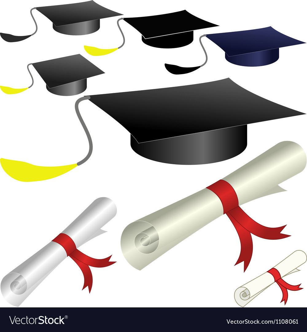 Graduate vector | Price: 1 Credit (USD $1)
