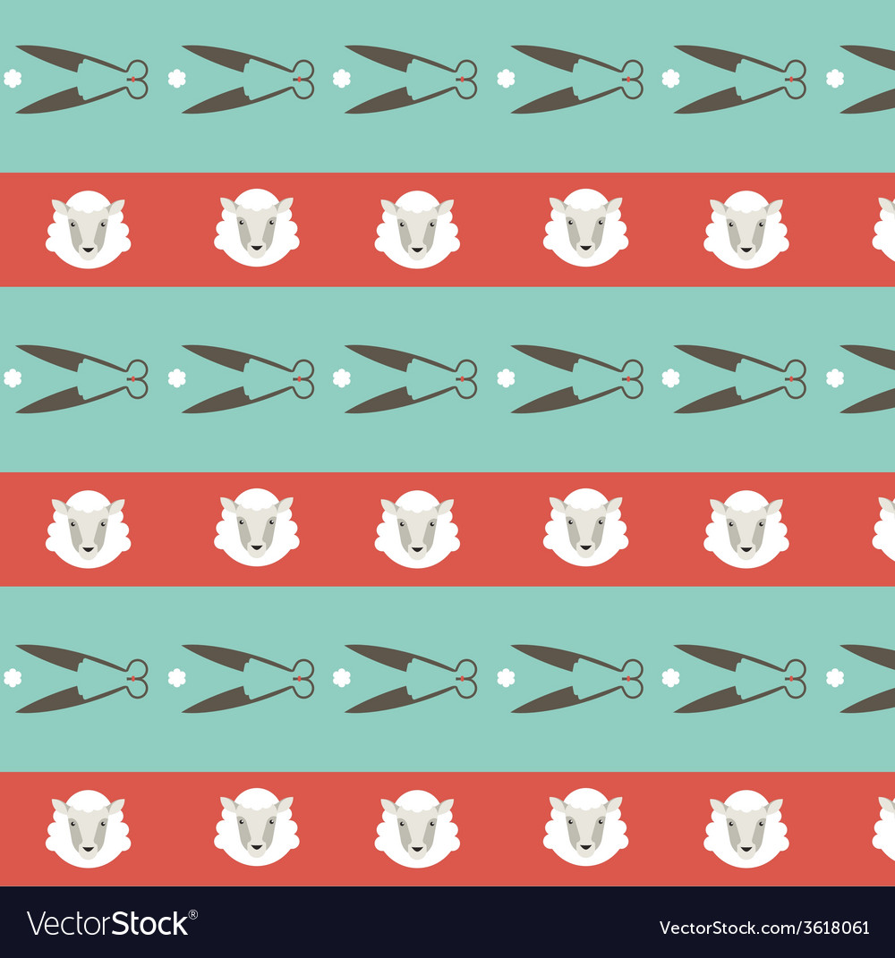 Seamless pattern ship background vector | Price: 1 Credit (USD $1)