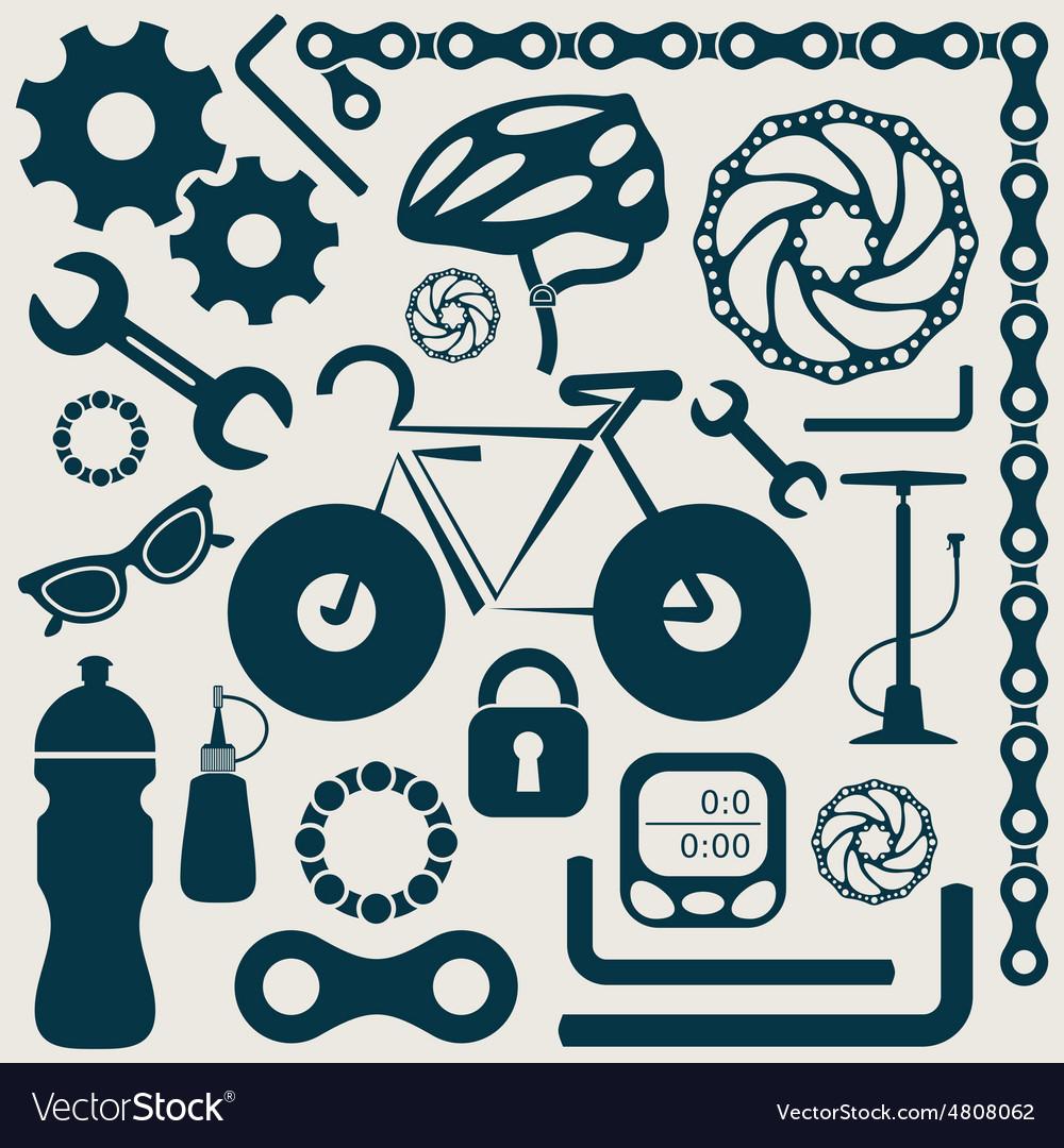 Bike tools vector