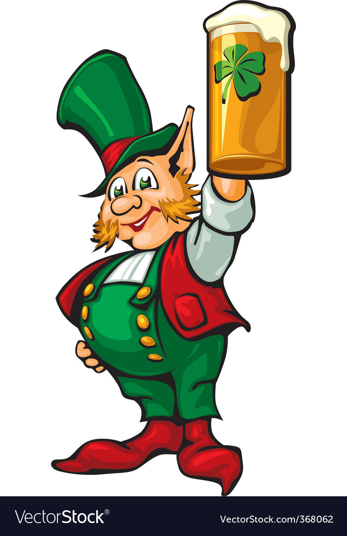 St patrick's beer vector | Price: 3 Credit (USD $3)