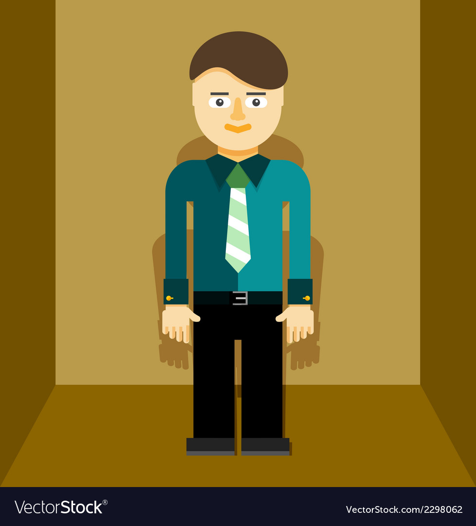 Young businessman icon vector   Price: 1 Credit (USD $1)