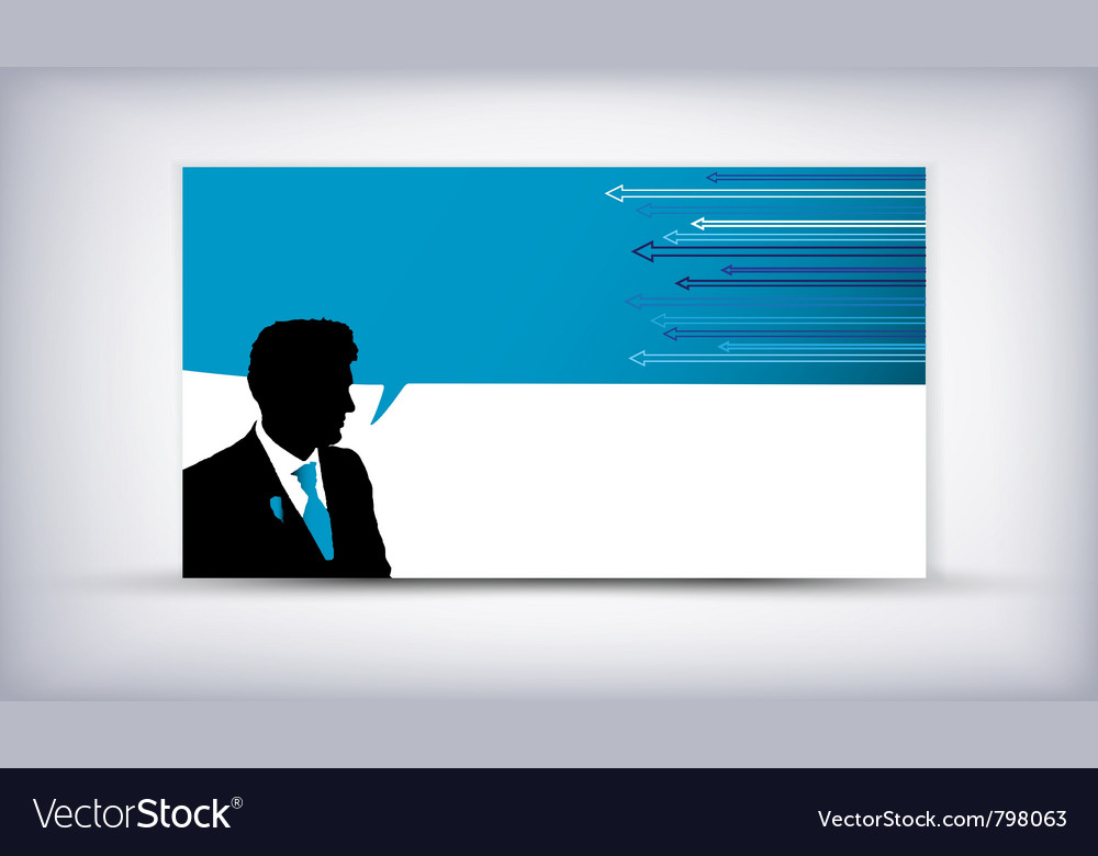 Business man quote vector | Price: 1 Credit (USD $1)