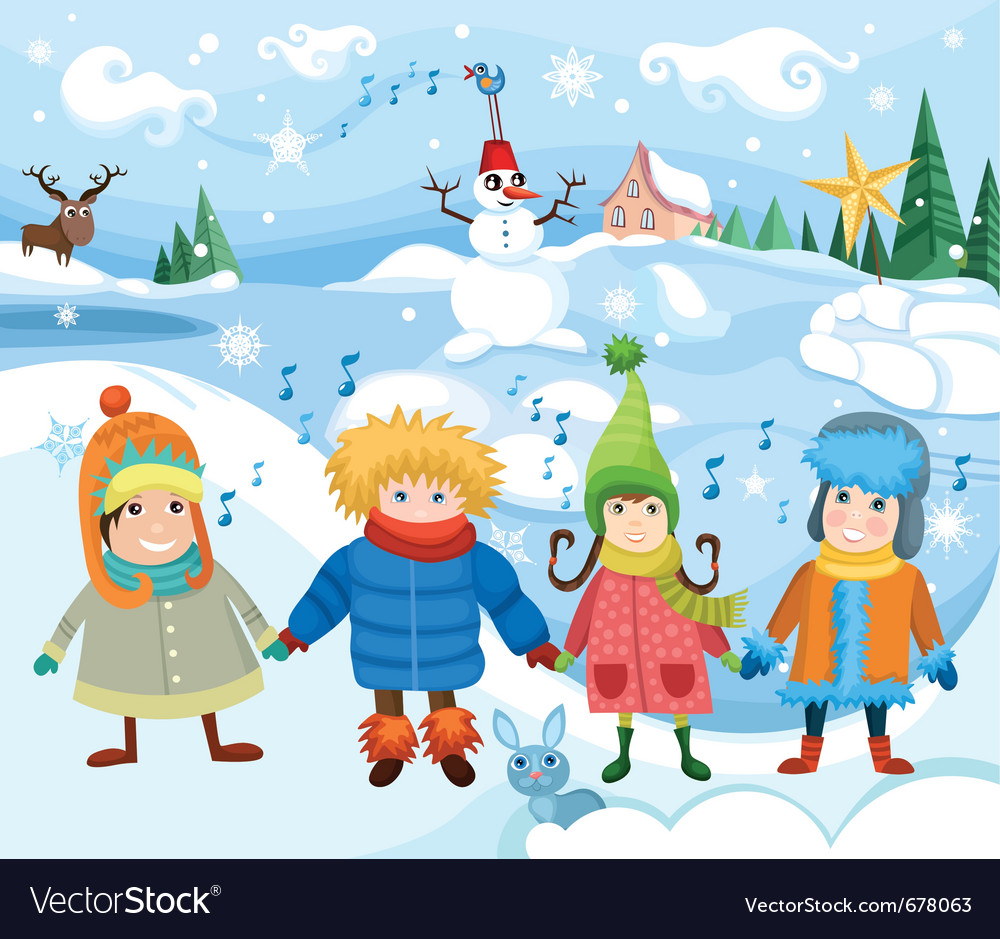 Children vector | Price: 5 Credit (USD $5)