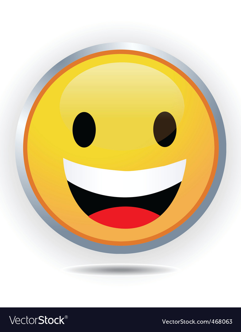 Smiley face vector   Price: 1 Credit (USD $1)