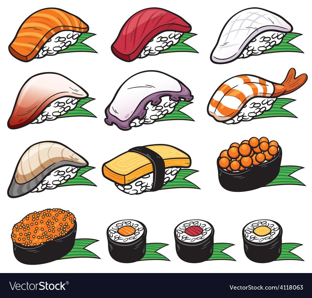 Sushi vector   Price: 3 Credit (USD $3)