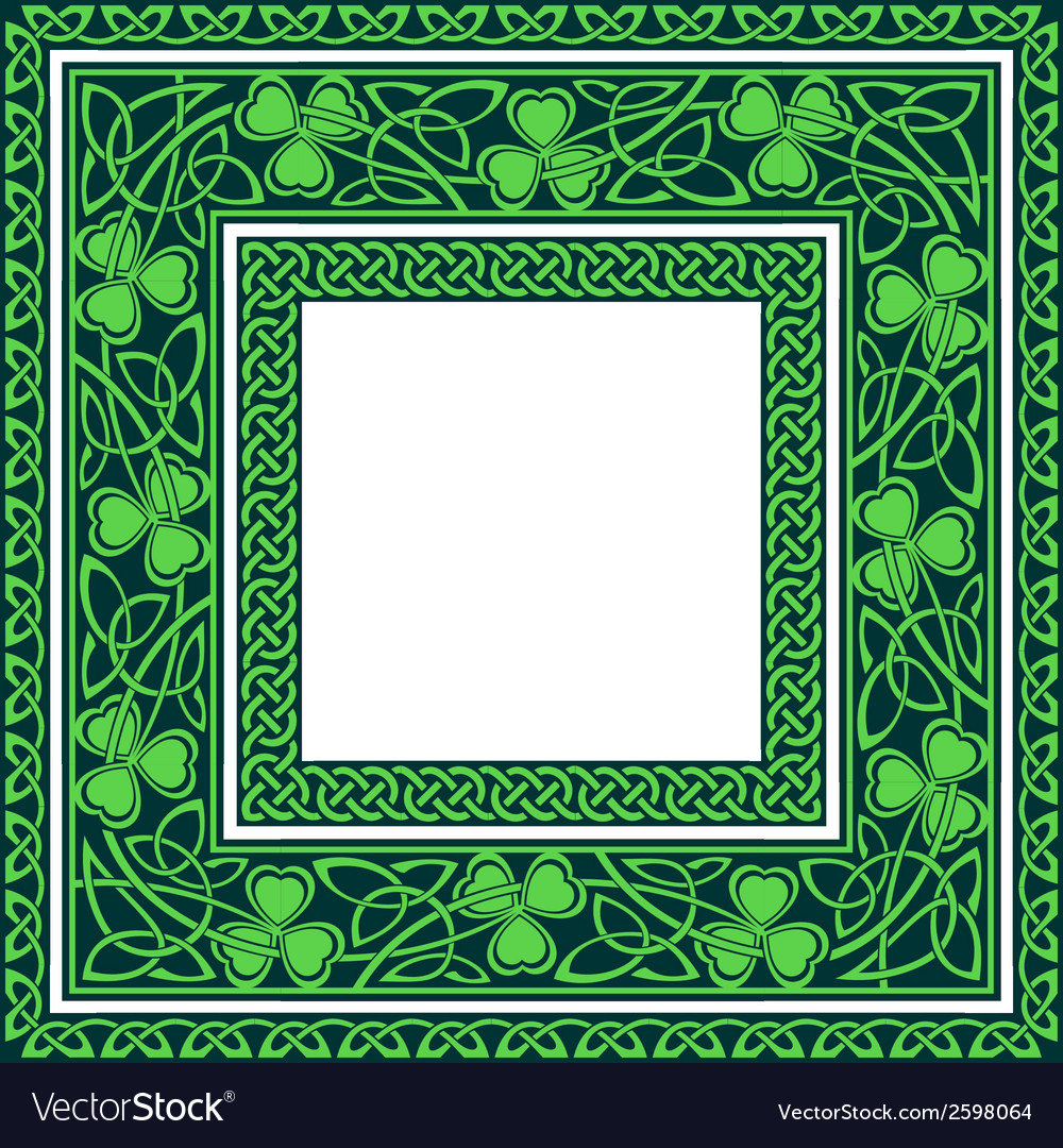 Editable celtic borders vector | Price: 1 Credit (USD $1)