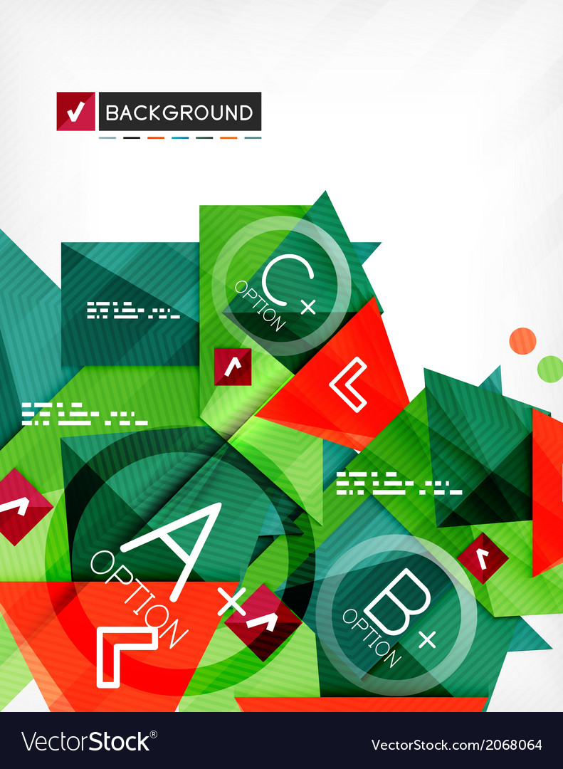 Futuristic abstract 3d infographic composition vector   Price: 1 Credit (USD $1)