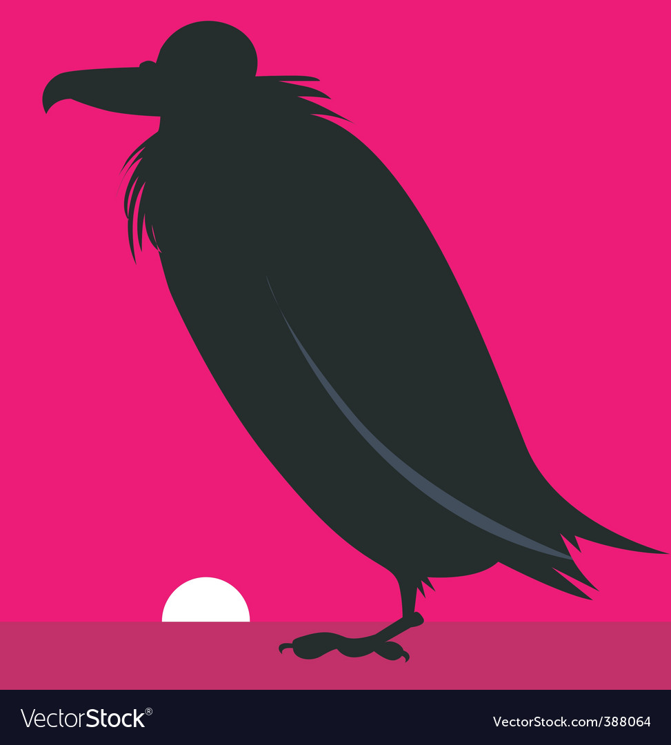 Vulture vector | Price: 1 Credit (USD $1)