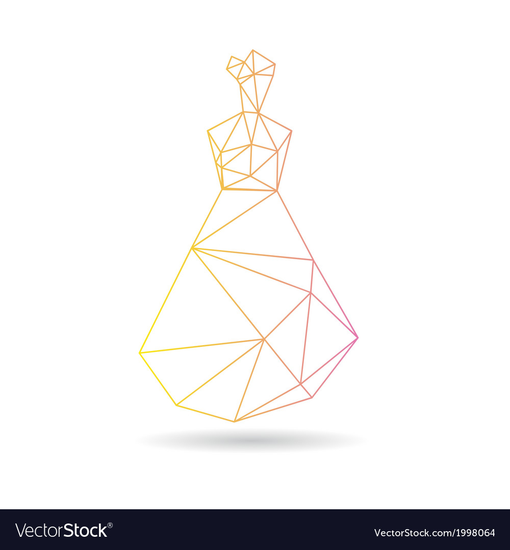 Woman abstract isolated vector | Price: 1 Credit (USD $1)