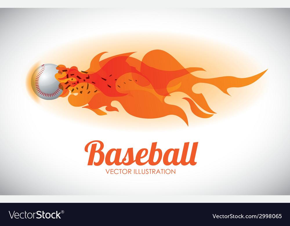 Baseball design vector | Price: 1 Credit (USD $1)
