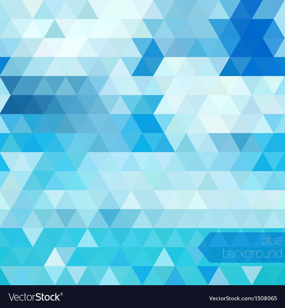 Blue abstract geometric background vector | Price: 1 Credit (USD $1)