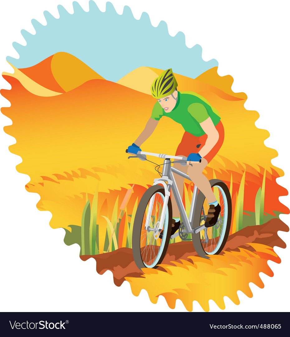 Mountain bike vector | Price: 3 Credit (USD $3)