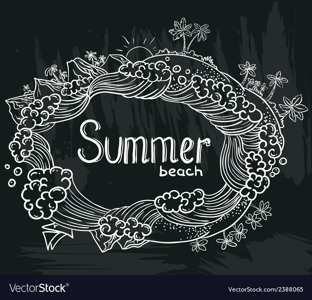 Tropical summer vector | Price: 1 Credit (USD $1)