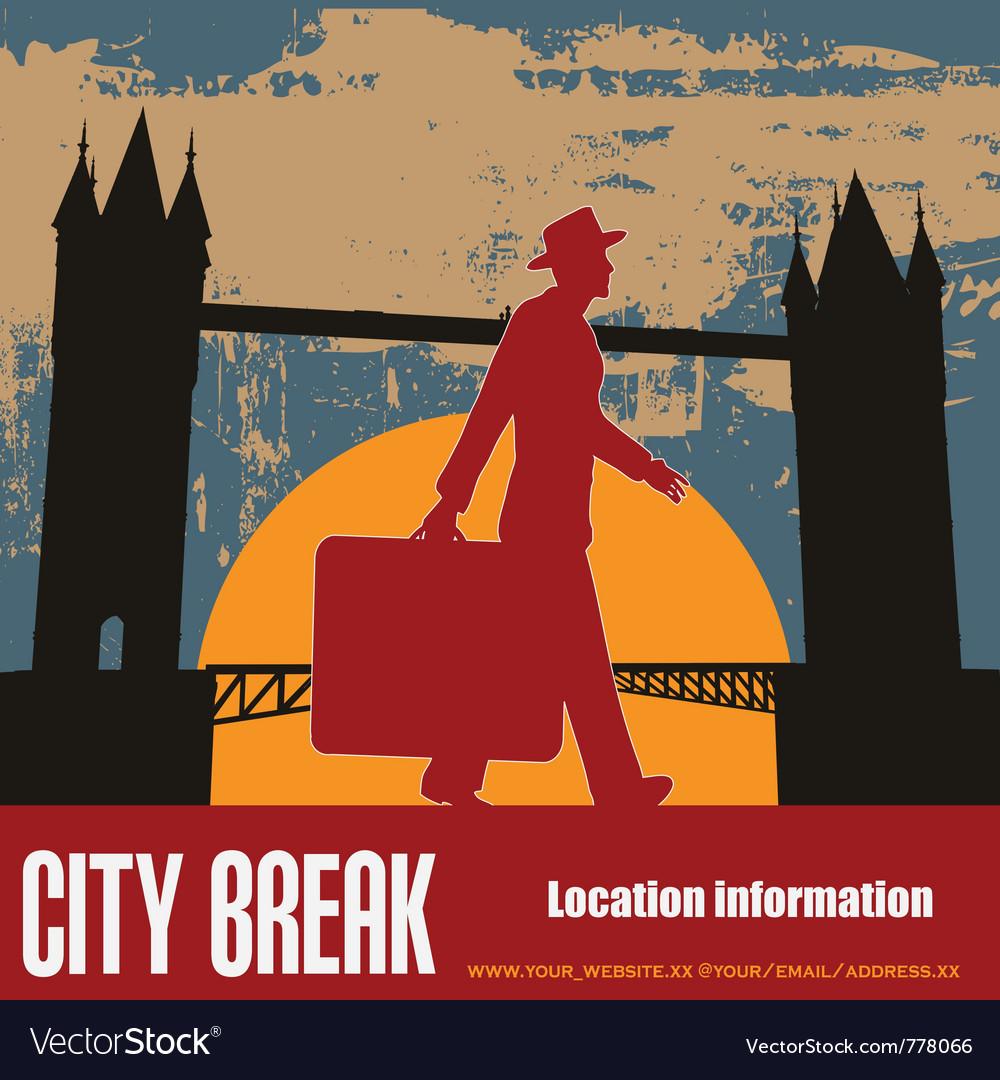 London break vector | Price: 1 Credit (USD $1)
