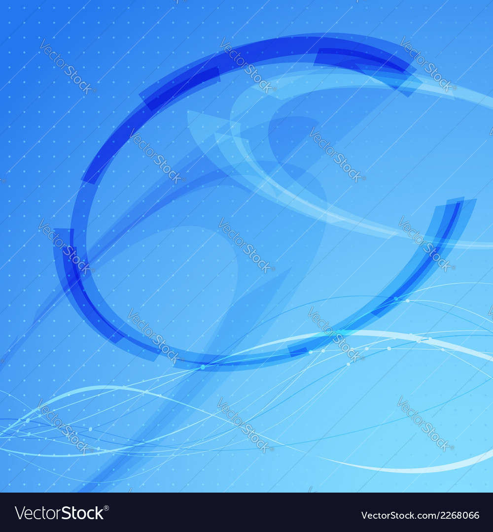 Modernistic bright circle element background vector | Price: 1 Credit (USD $1)