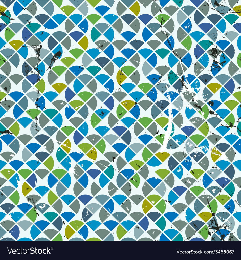 Geometric colorful abstract seamless pattern vector | Price: 1 Credit (USD $1)