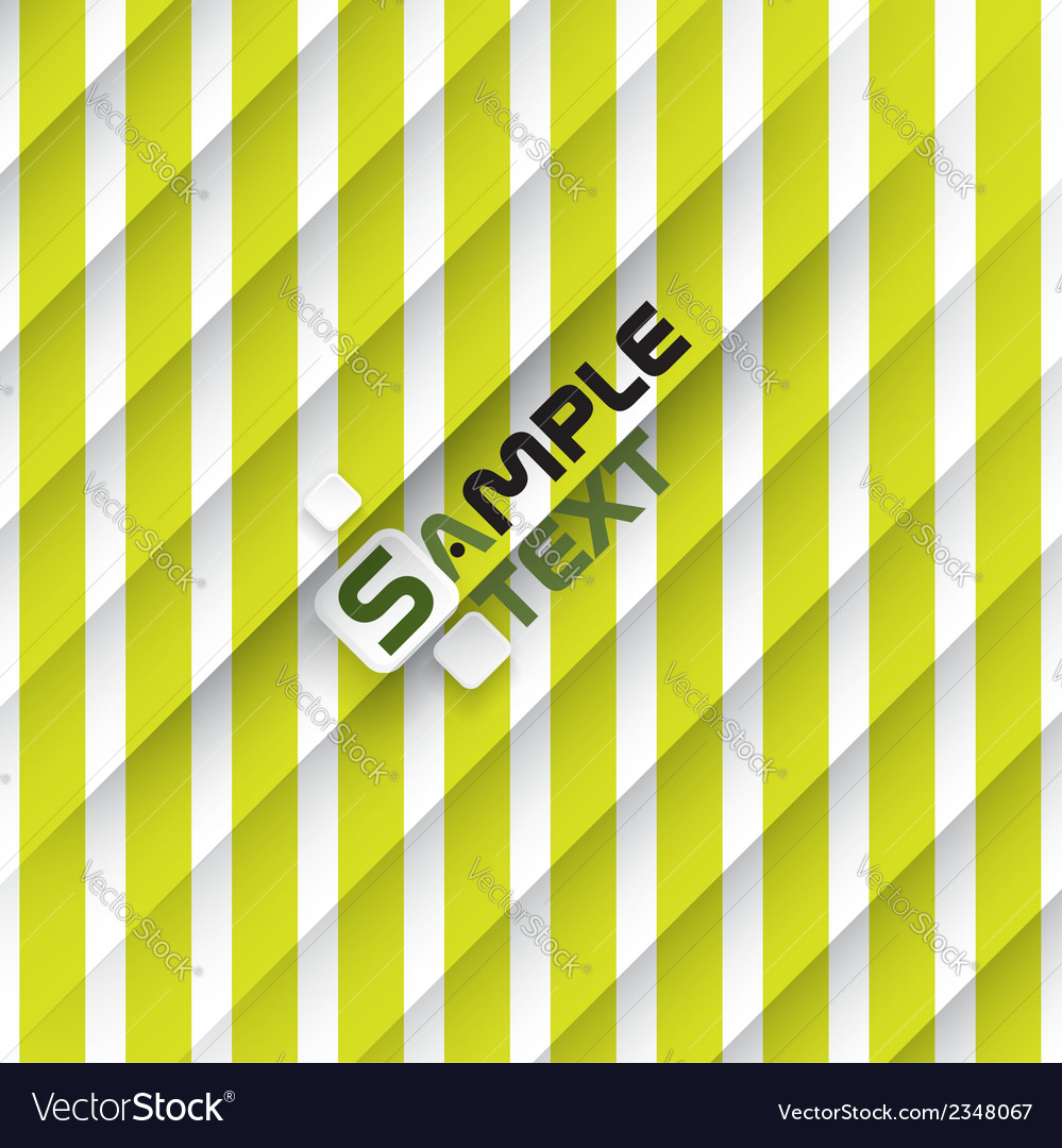 Green and white striped background vector | Price: 1 Credit (USD $1)
