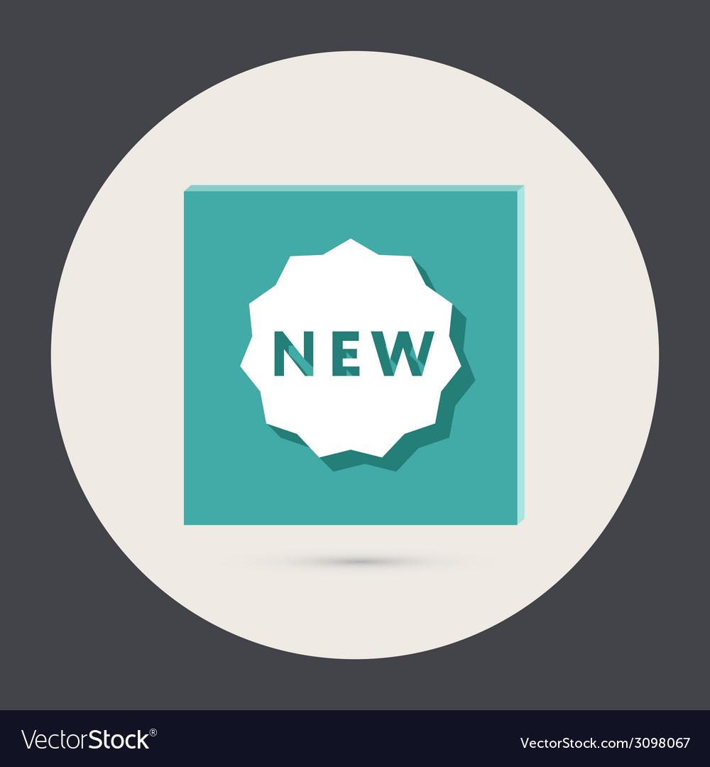 Label new vector | Price: 1 Credit (USD $1)