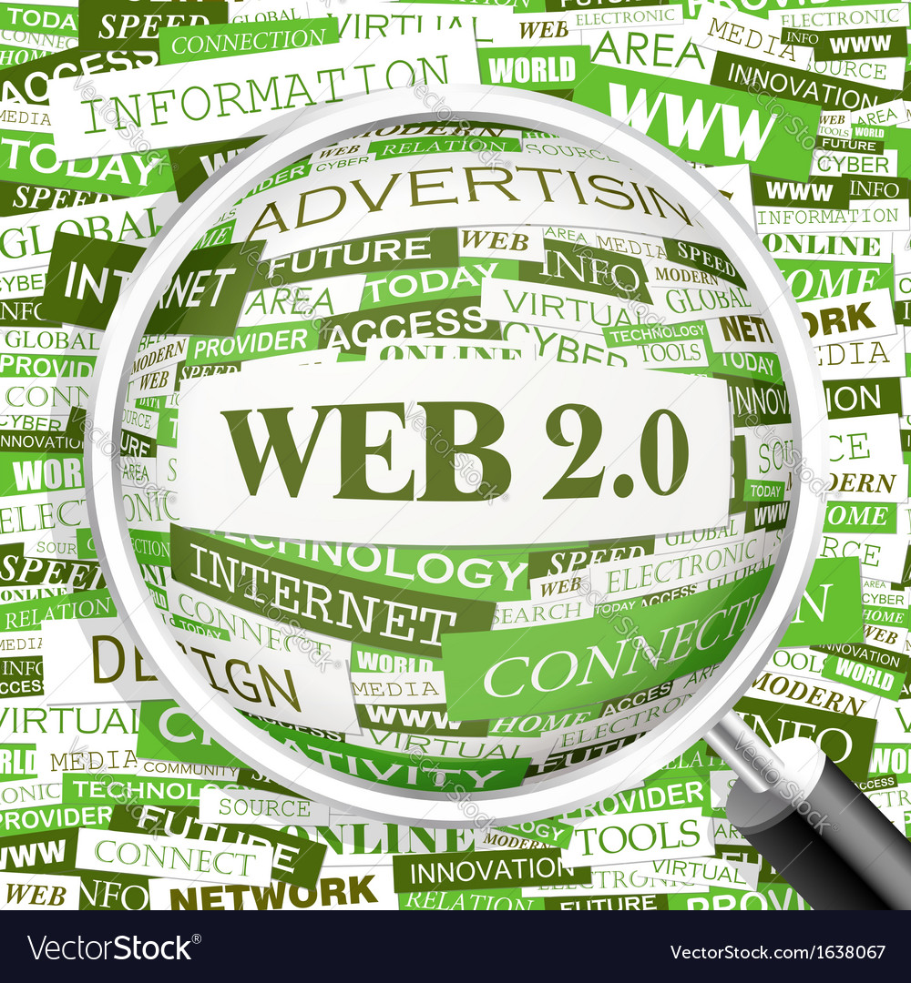 Web2 0 vector | Price: 1 Credit (USD $1)