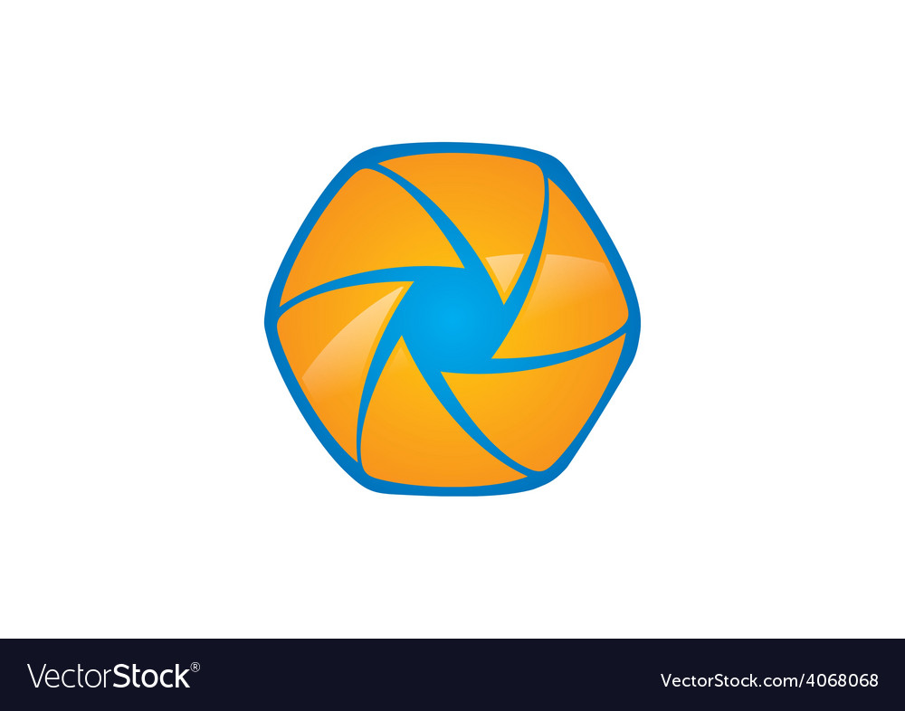 Film movie polygon abstract logo vector | Price: 1 Credit (USD $1)
