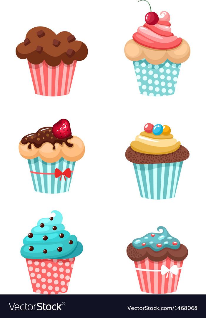 Muffin vector | Price: 1 Credit (USD $1)