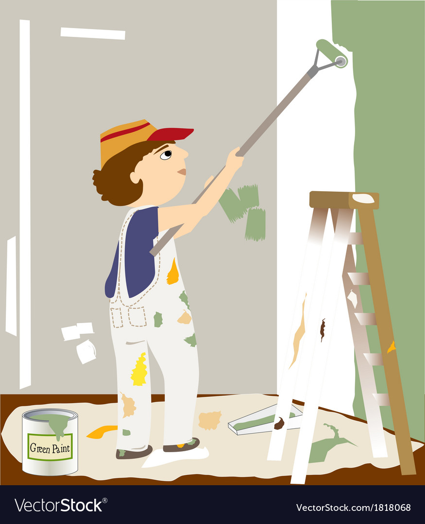 The painter vector | Price: 1 Credit (USD $1)