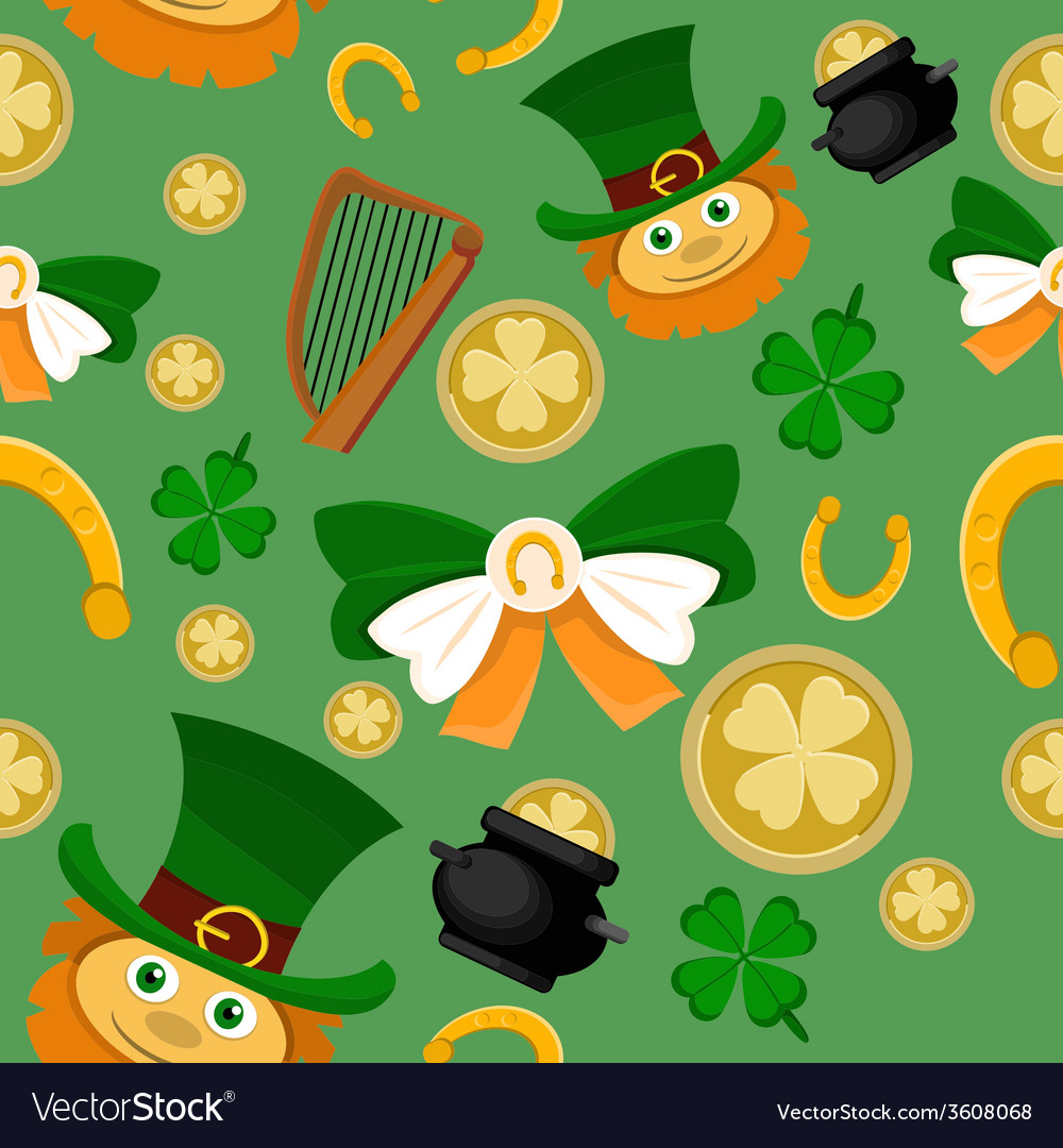 Saint patrick vector | Price: 1 Credit (USD $1)