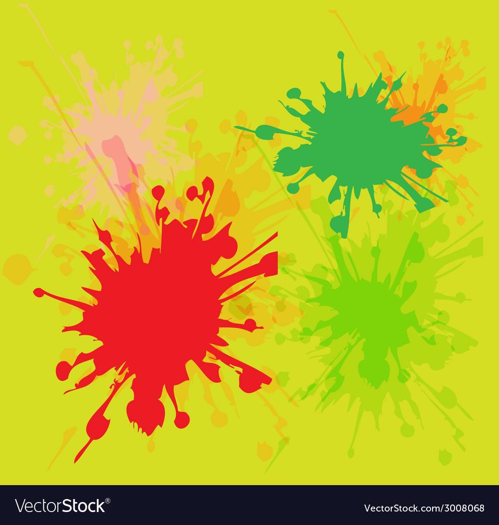 Watercolor paint splash vector | Price: 1 Credit (USD $1)