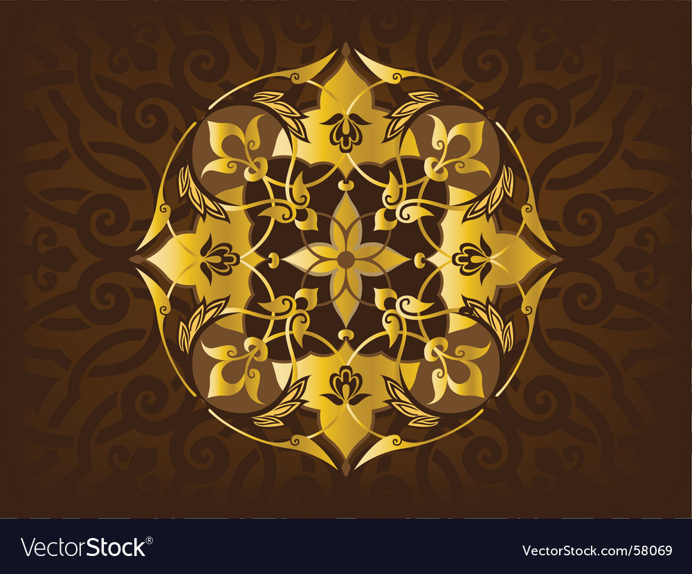 Arabic ornaments vector | Price: 1 Credit (USD $1)
