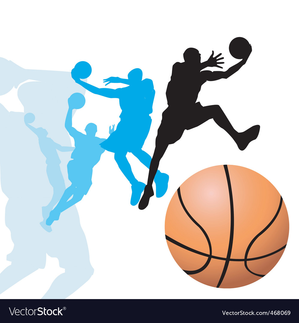 Basketball dunk2 vector | Price: 1 Credit (USD $1)
