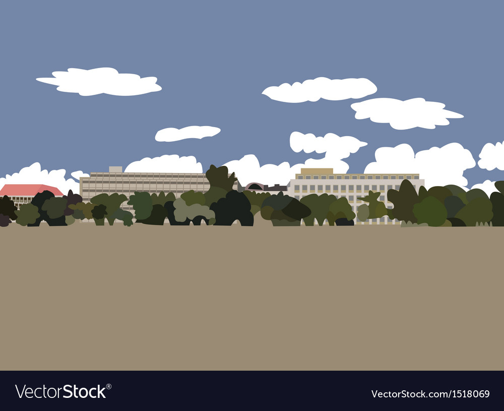 Plain letna in prague vector | Price: 1 Credit (USD $1)