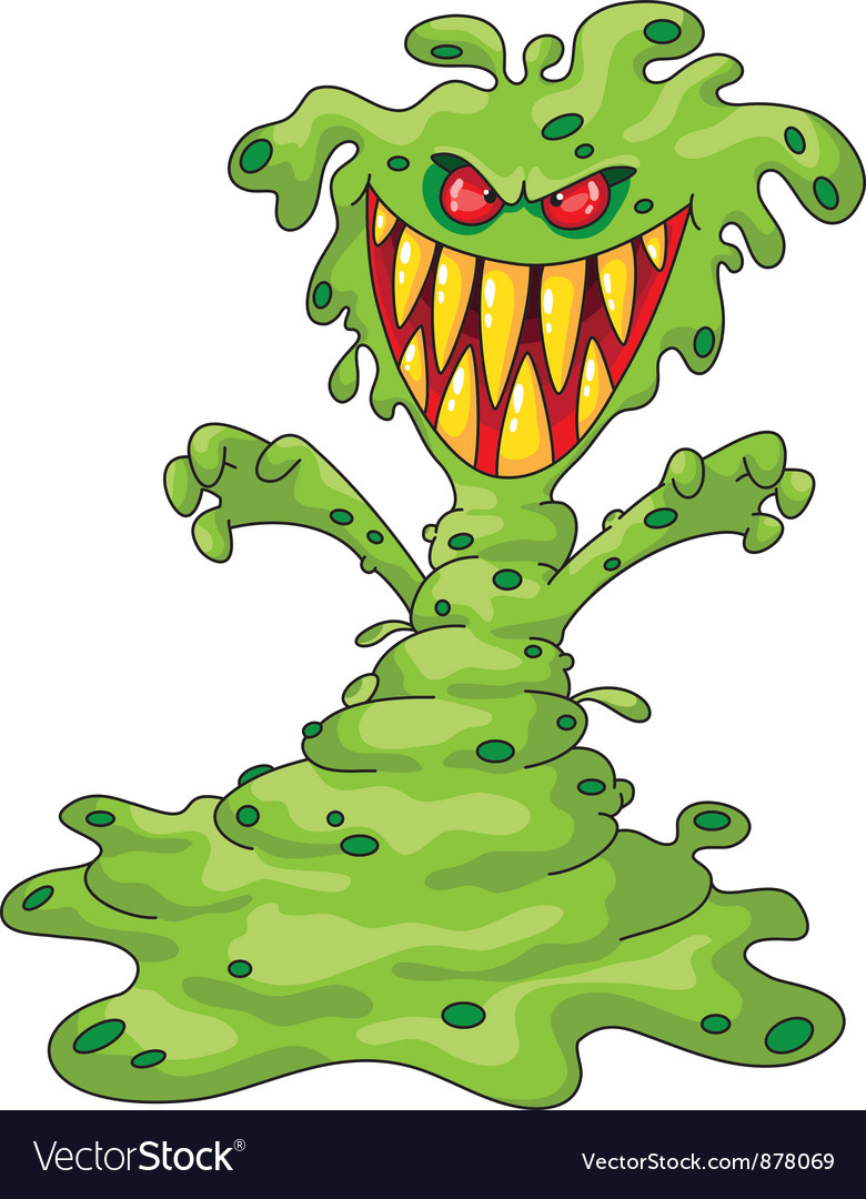 Scary monster vector | Price: 3 Credit (USD $3)