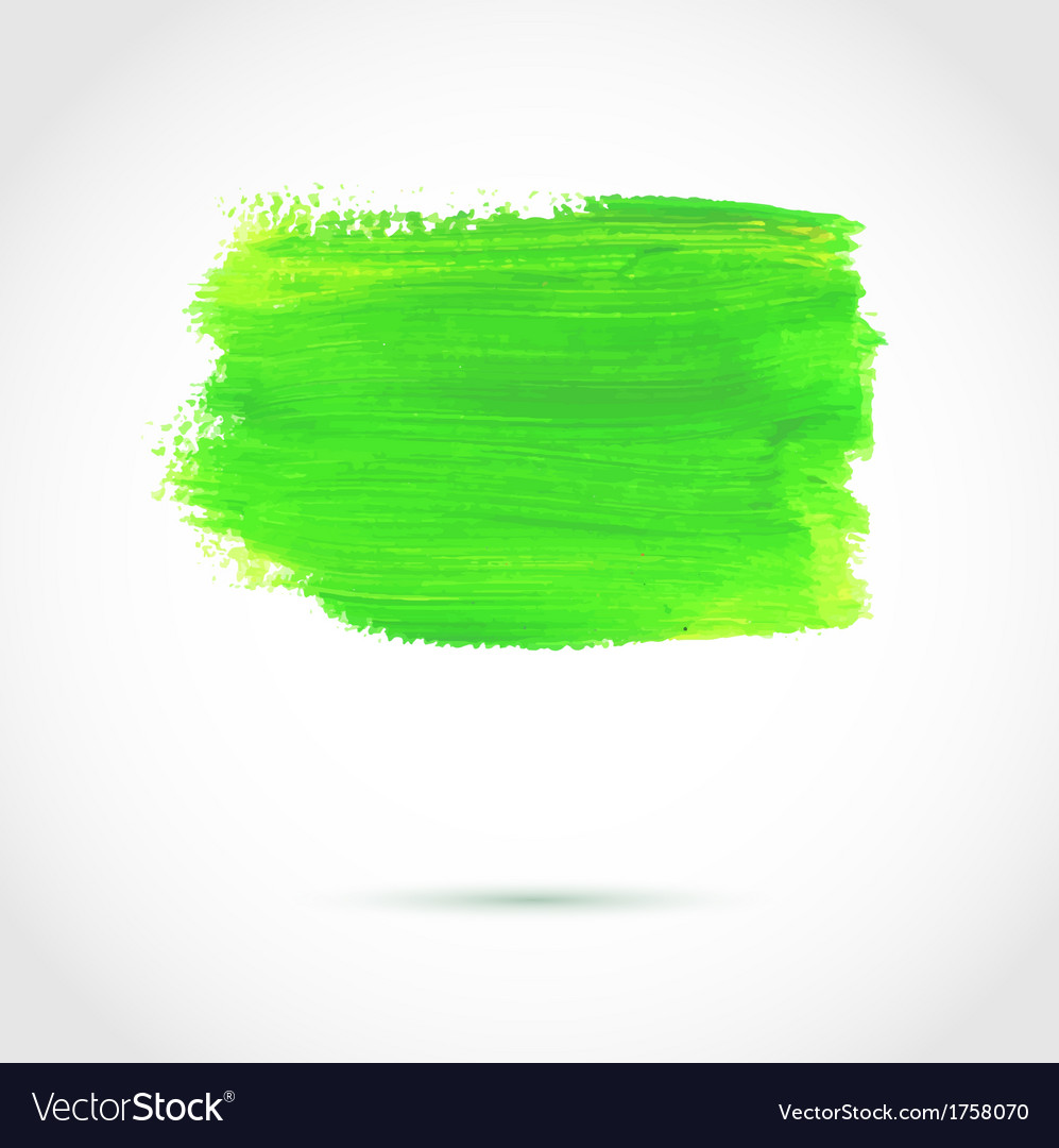 Colorful green abstract paint banner vector | Price: 1 Credit (USD $1)