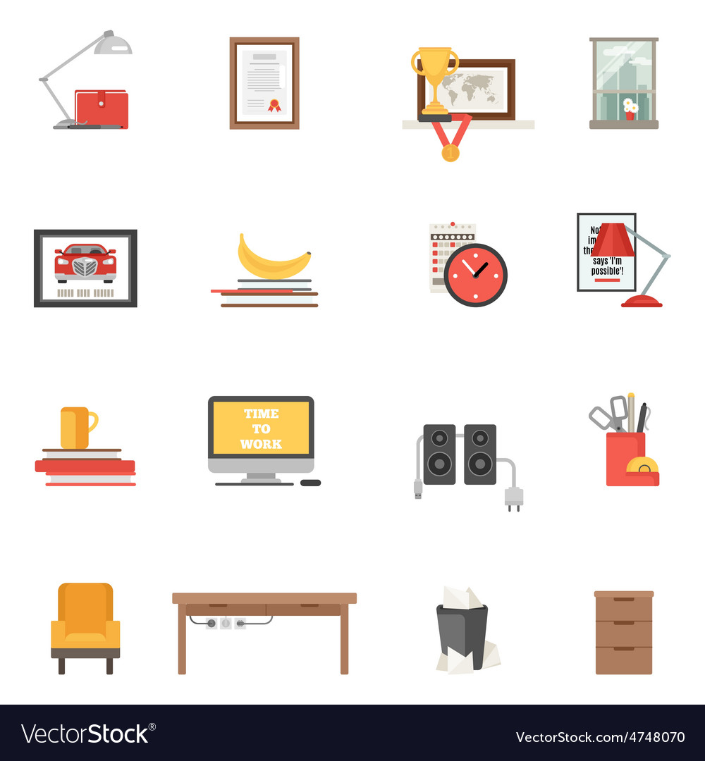 Room single icons vector | Price: 1 Credit (USD $1)