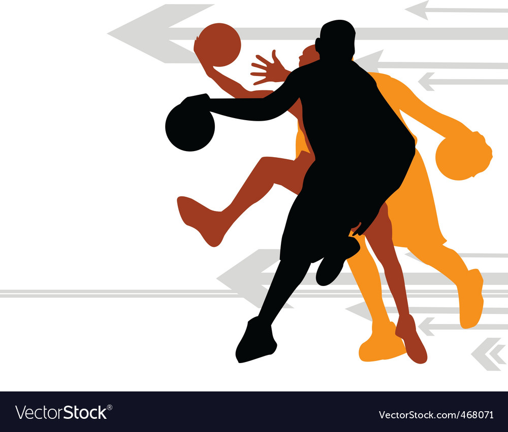 Basketball direction vector | Price: 1 Credit (USD $1)