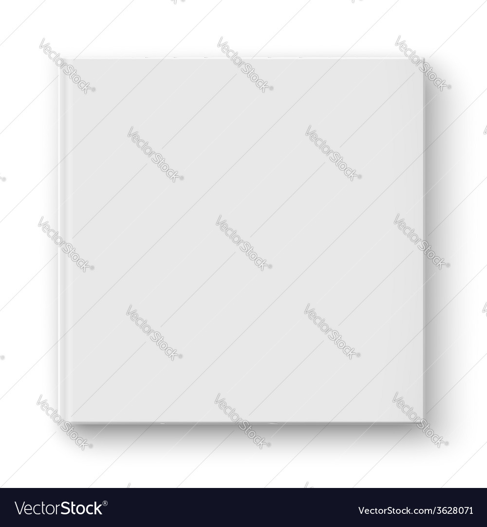 Blank square album template vector | Price: 1 Credit (USD $1)