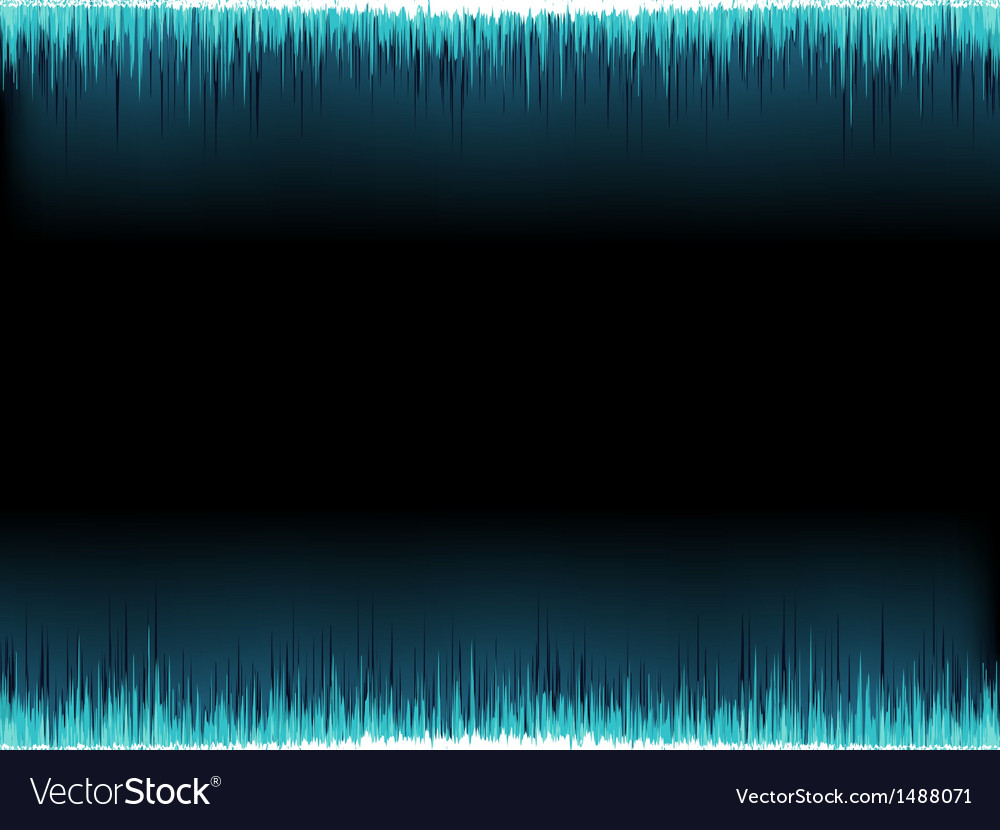 Blue sound wave on white  eps10 vector | Price: 1 Credit (USD $1)