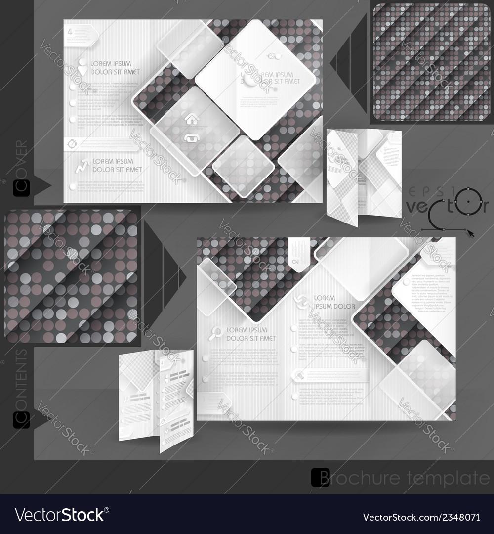 Business brochure template design vector | Price: 1 Credit (USD $1)