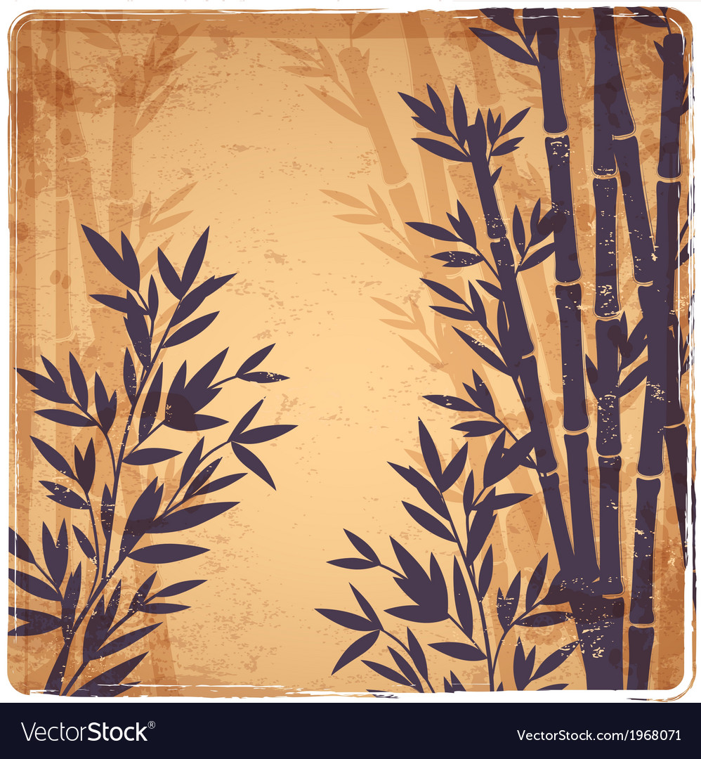 Isolated bamboo vector | Price: 1 Credit (USD $1)