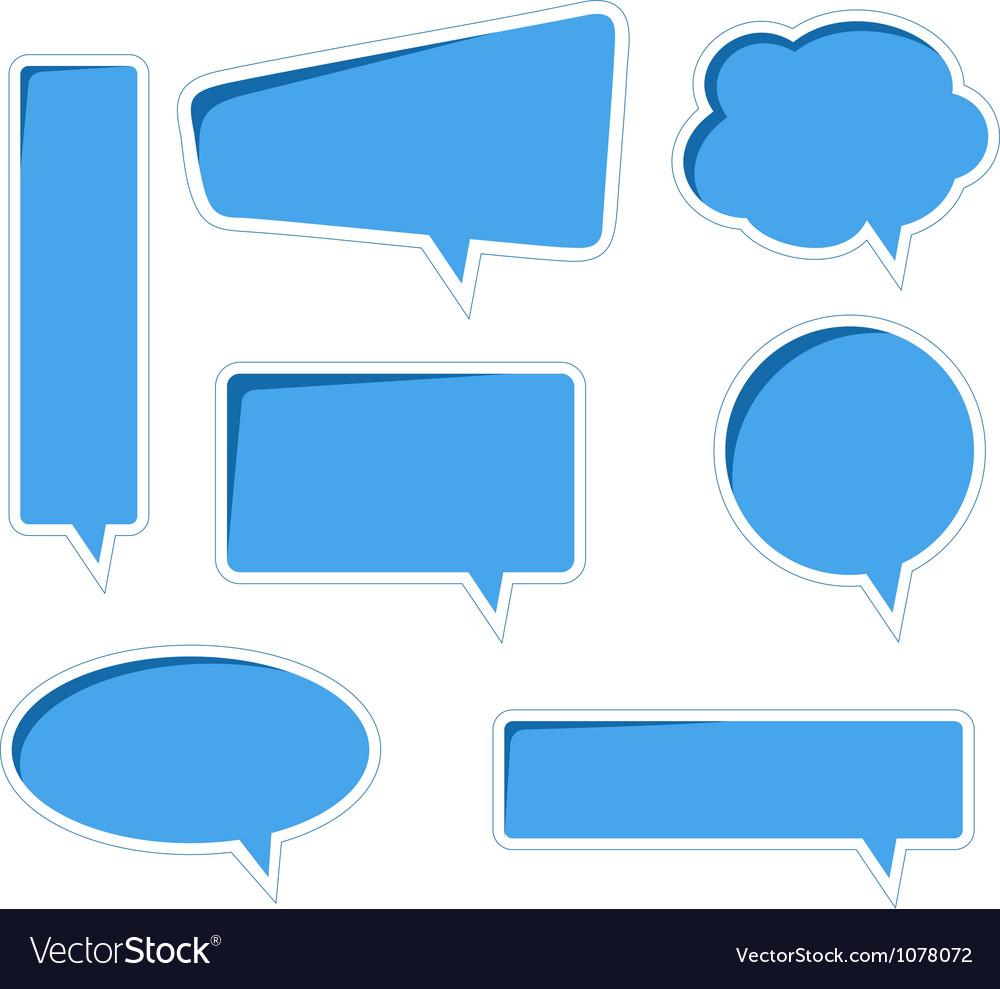 Bubble speech vector | Price: 1 Credit (USD $1)