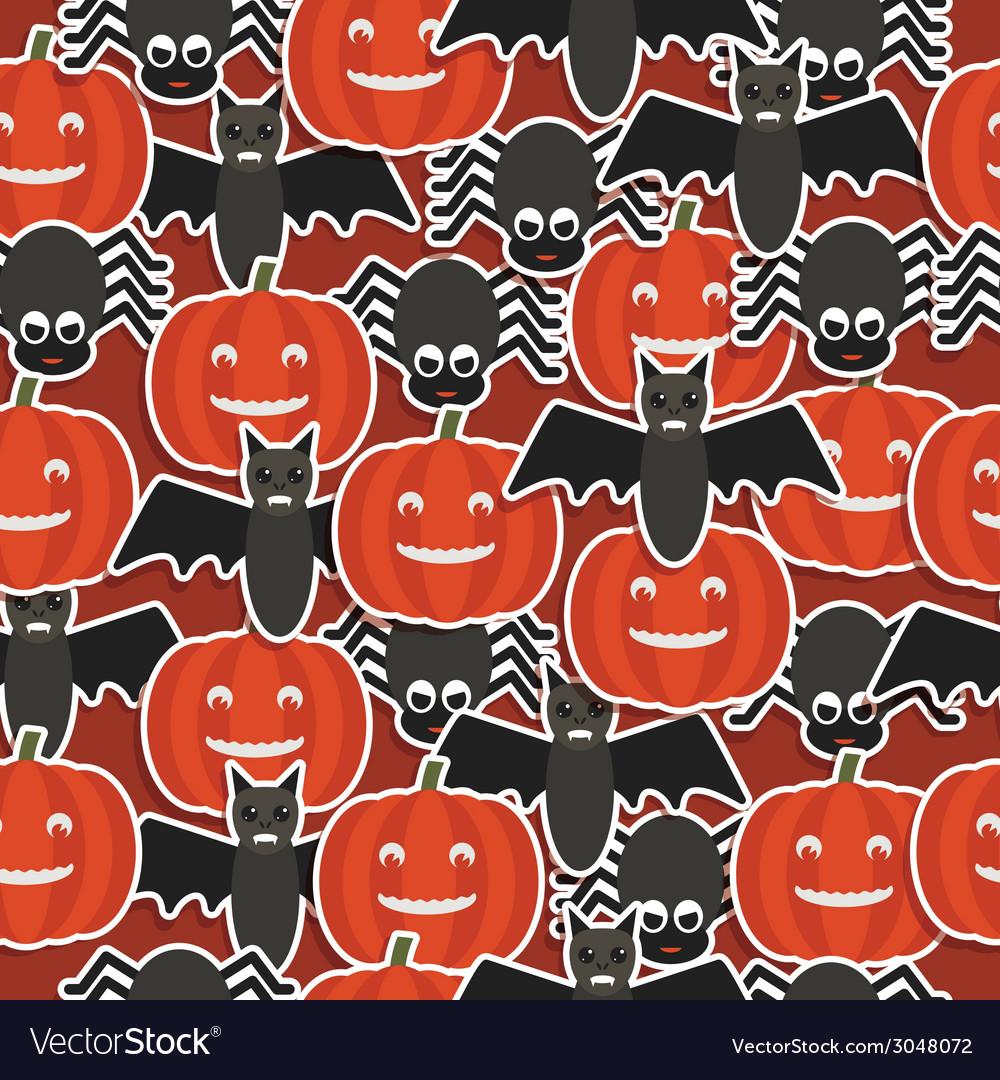 Halloween pattern vector | Price: 1 Credit (USD $1)