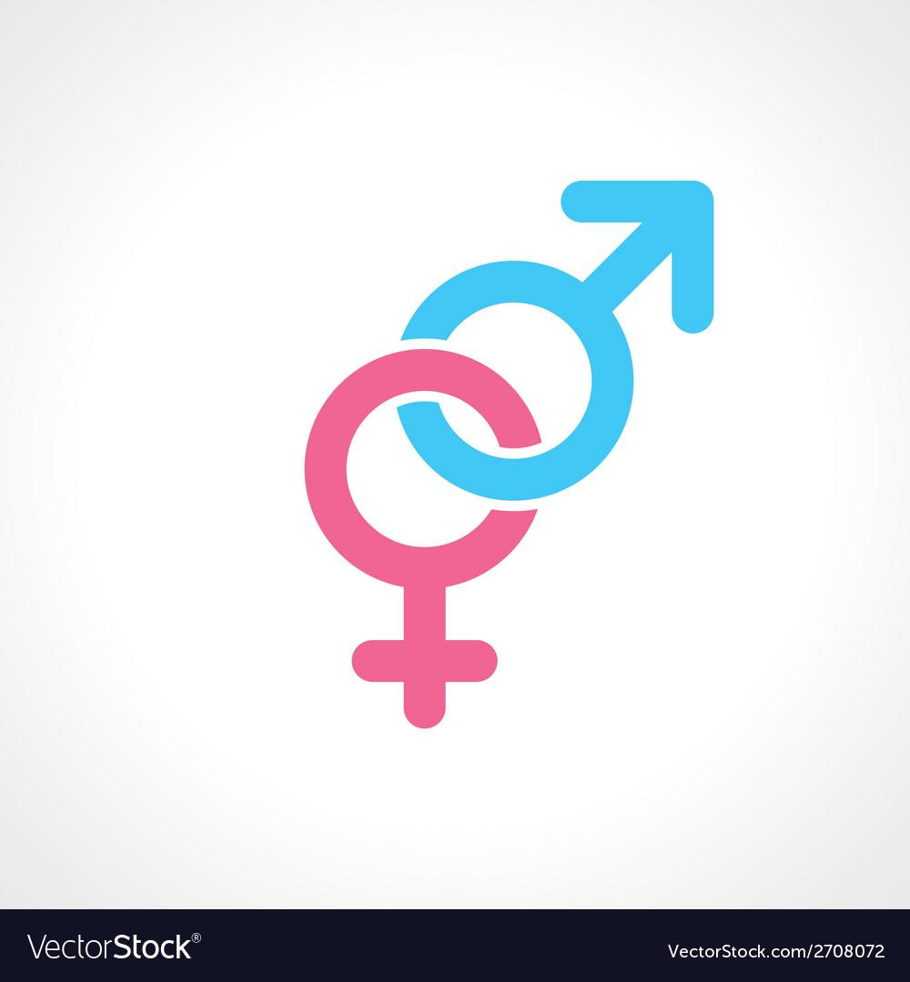 Men women symbol vector | Price: 1 Credit (USD $1)